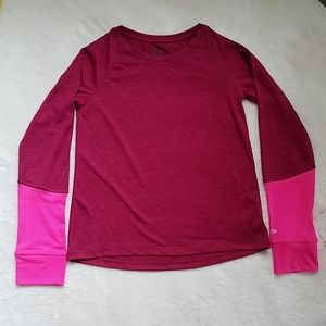 Champion long sleeve top girls size m NWT